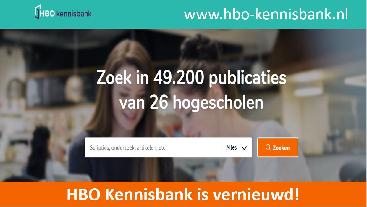 HBO Kennisbank vernieuwd