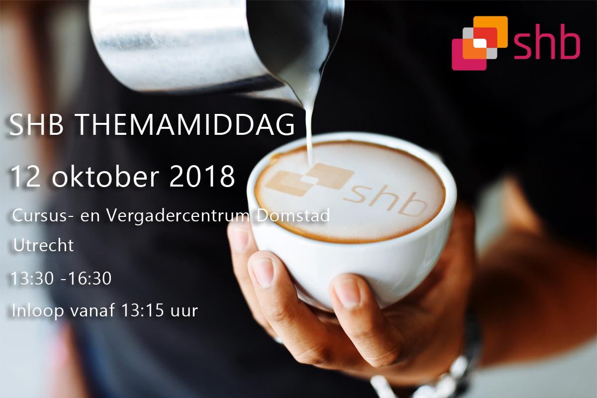 Save the Date! SHB Themamiddag 12 oktober