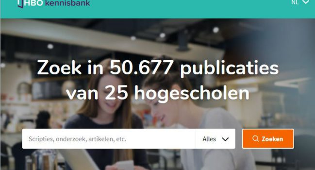 Meer dan 50.000 publicaties op HBO Kennisbank