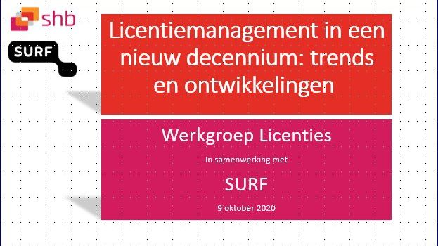 Nu beschikbaar: Licentiemanagement in een nieuw decennium: trends en ontwikkelingen